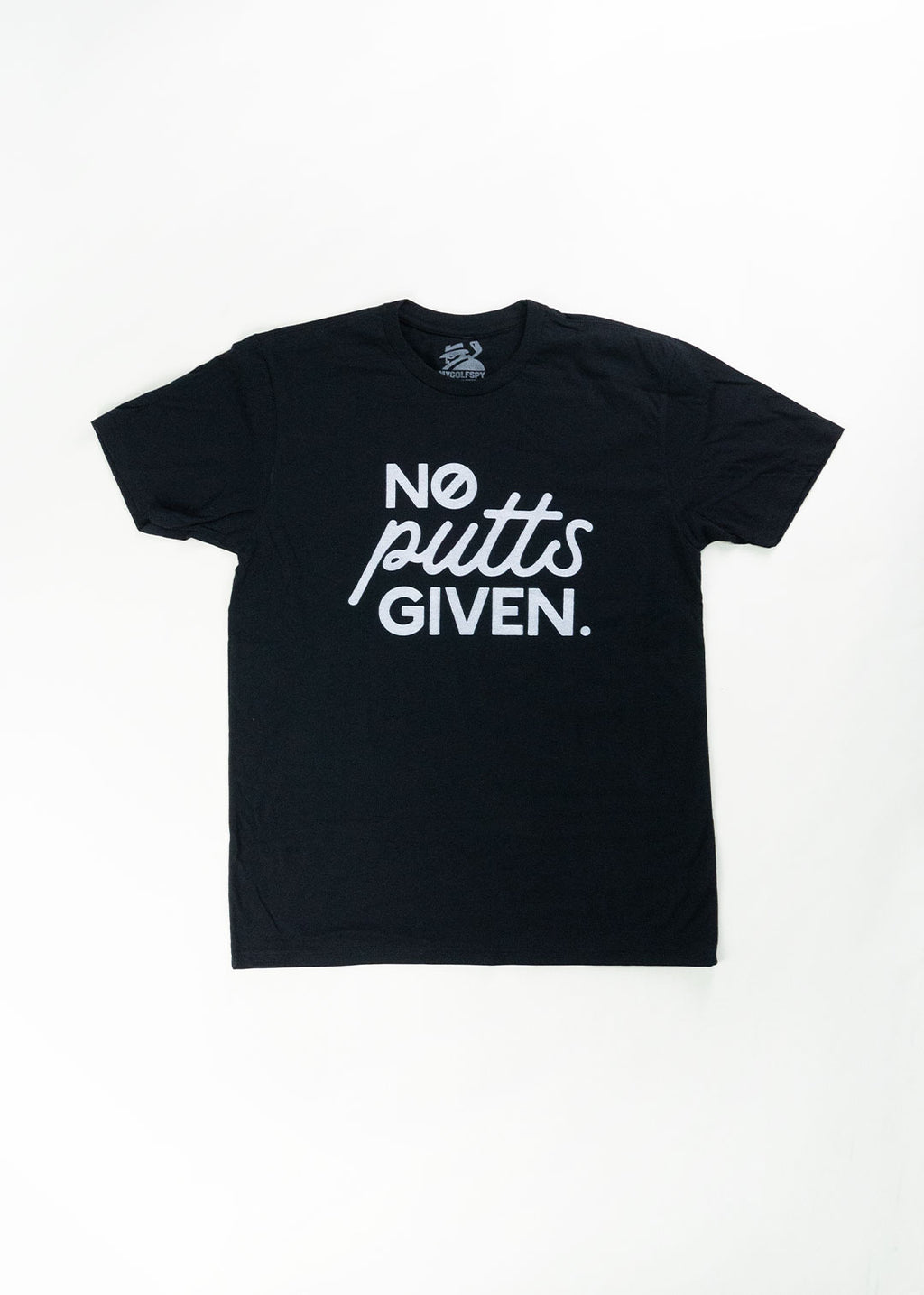 No Putts Given Tee - Black