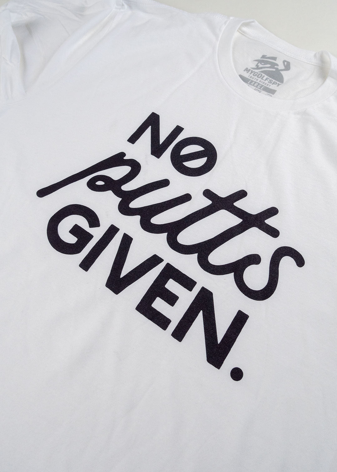 No Putts Given Tee - White
