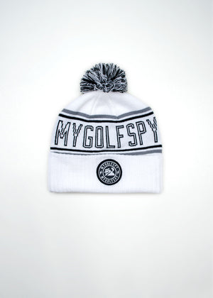 MyGolfSpy Winter Hat - White