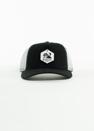MyGolfSpy Staff Collection | Black & White Snapback