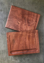AFRICAN MAHOGANY - 12.5 x 15 x ¾ inches