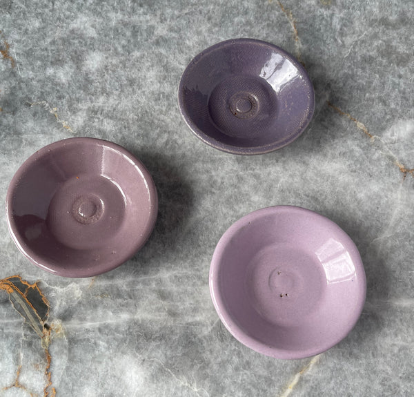 Set of 3 Tiny Prep Bowls: Purple Ombré