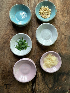 Drippy Collection: Set of 3 Tiny Prep Bowls