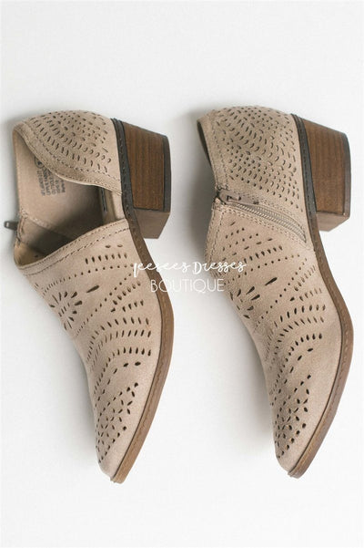 The Anouk Eyelet Booties