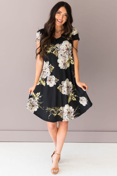 The Lola Swing Dress Modest Dresses vendor-unknown