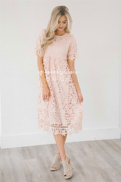 The Brooklynn - Nursing Friendly Modest Dresses vendor-unknown