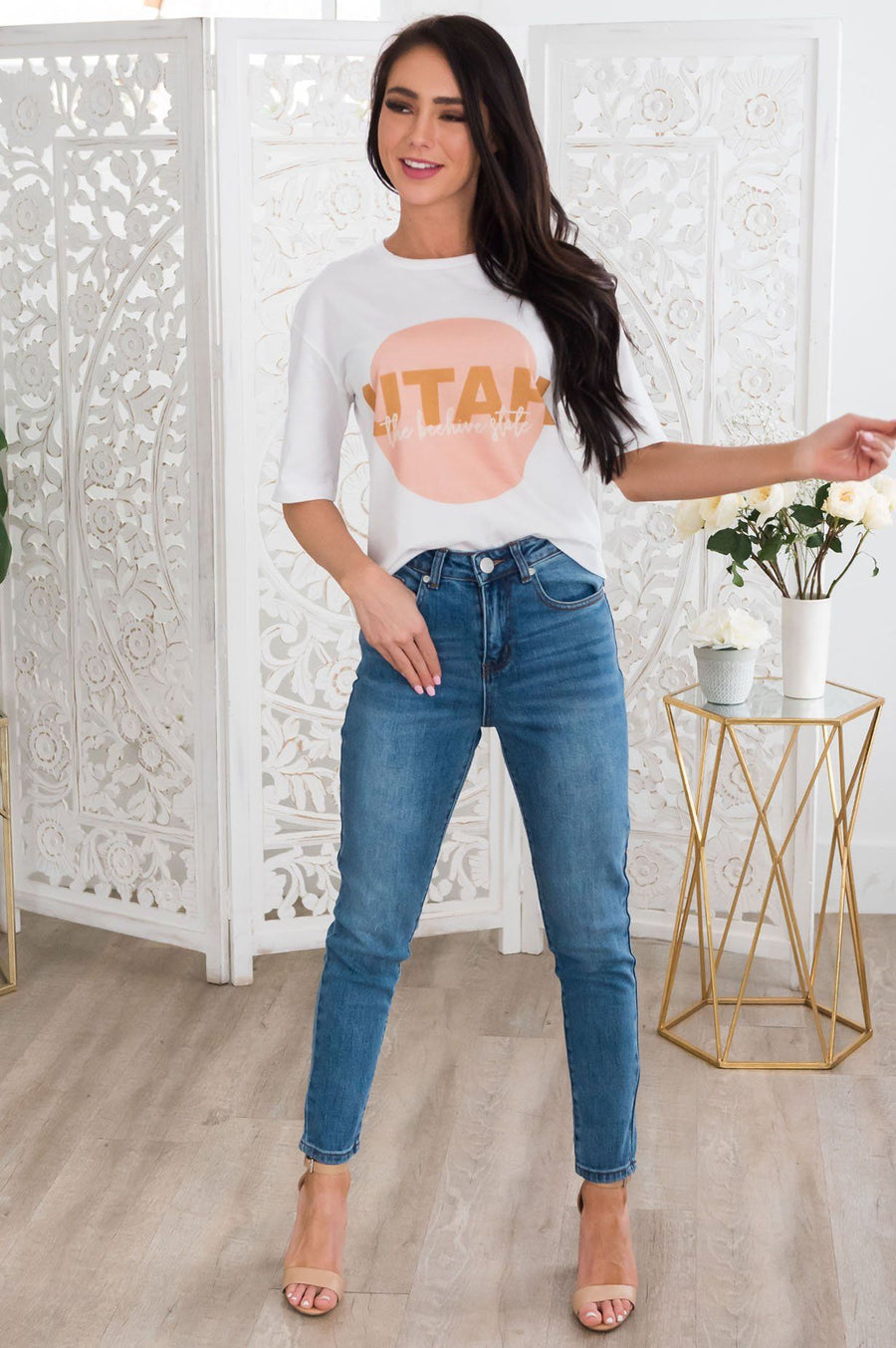 Utah Graphic Modest Tee