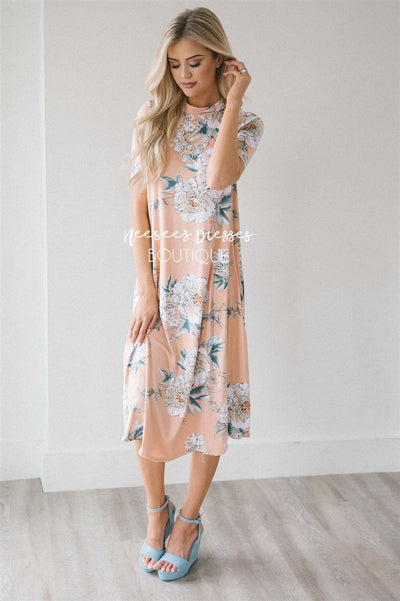 The Lyndie Swing Dress 50% OFF Summer Sale vendor-unknown S Peach