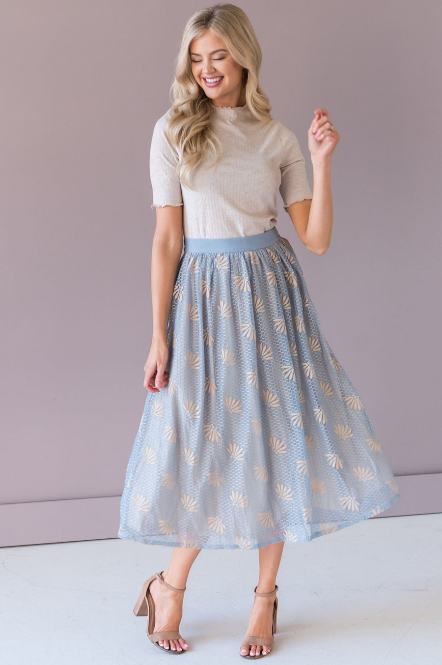 Love That Lasts Modest Lace Skirt