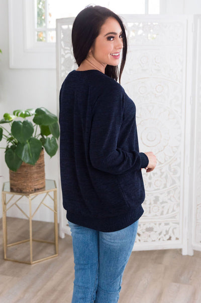 Spring Forward Modest Sweater Tops vendor-unknown