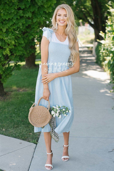 The Lilith Modest Dresses vendor-unknown S Light Blue