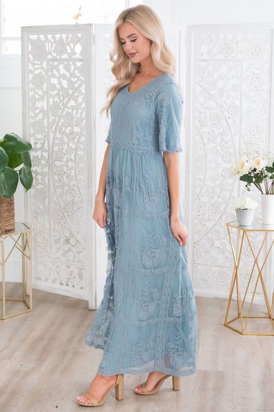 The Lexi Boho Maxi Dress Modest Dresses vendor-unknown