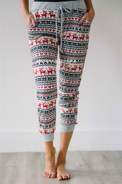 The Night Before Christmas Pajama Pants New Year SALE vendor-unknown