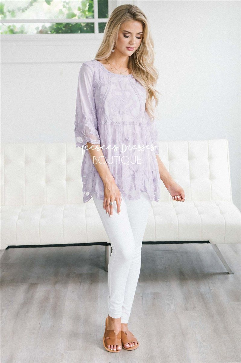 Day Dreamer Lace Blouse