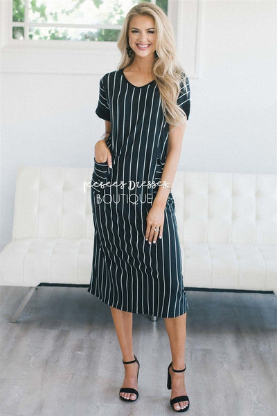 The Taylee Swing Dress Modest Dresses vendor-unknown