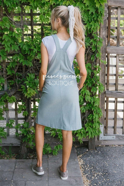 The Emiliana Overall Dress Modest Dresses vendor-unknown