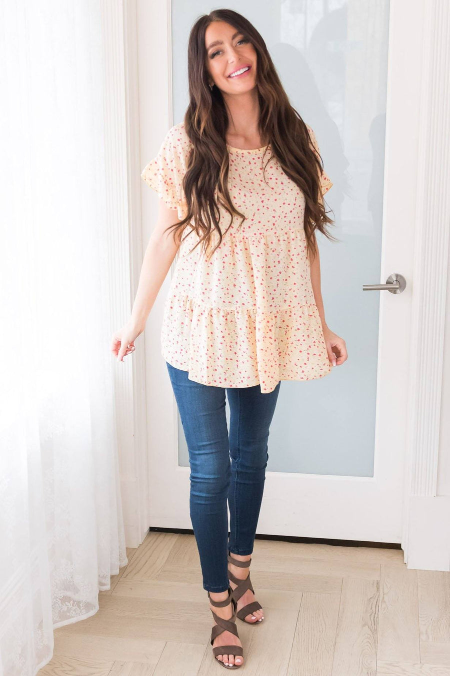 Sweet Success Floral Blouse