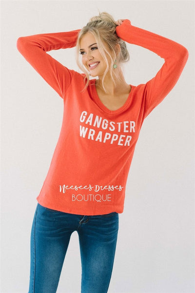 Gangster Wrapper Red Sweater New Year SALE vendor-unknown XS Red