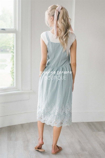 The Kalissa Overall Dress Modest Dresses vendor-unknown