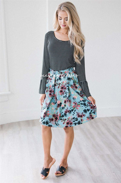Full Circle Pleated Skirt Skirts vendor-unknown