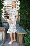 The Minnie Modest Dresses vendor-unknown S Black & White Plaid
