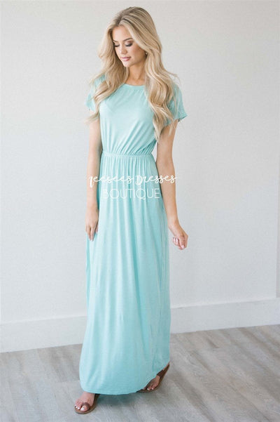 The Harlyn Short Sleeve Maxi Modest Dresses vendor-unknown