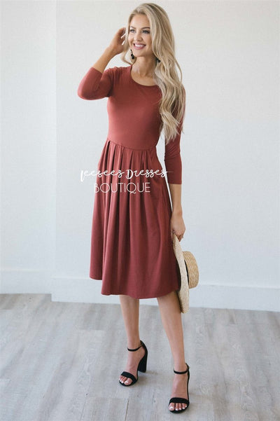 The Ashley Modest Dresses vendor-unknown