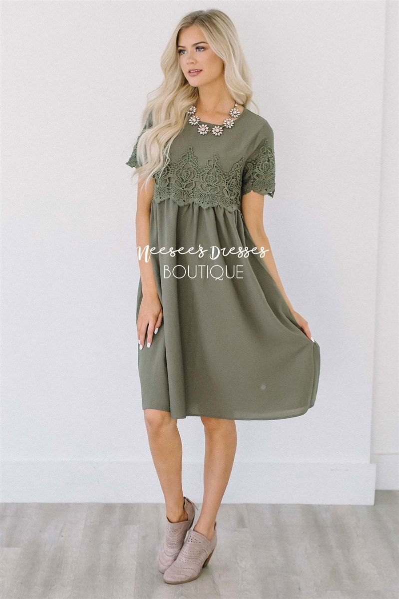 The Remy Modest Dresses vendor-unknown S Olive