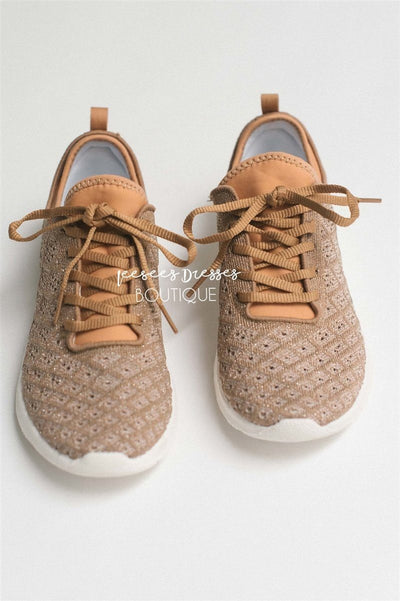 The Dessa Sneakers Accessories & Shoes vendor-unknown Rose Gold 6