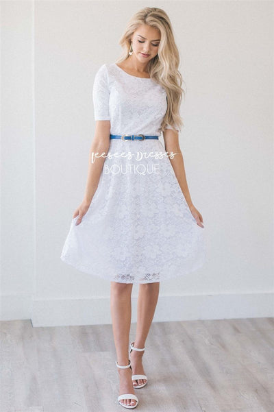 The Stella Modest Dresses vendor-unknown White XS