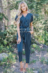 The Jacque Striped Jumpsuit