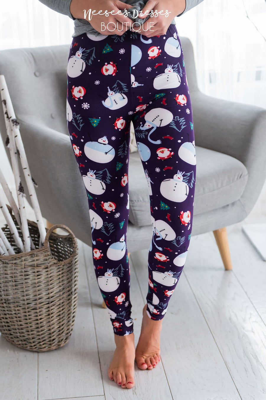 Baby It's Cold Outside Christmas Leggings Accessories & Shoes vendor-unknown