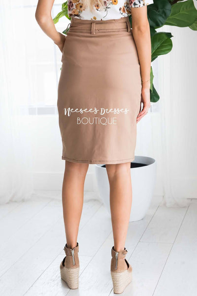 Bare Necessities Midi Tie Skirt Modest Dresses vendor-unknown