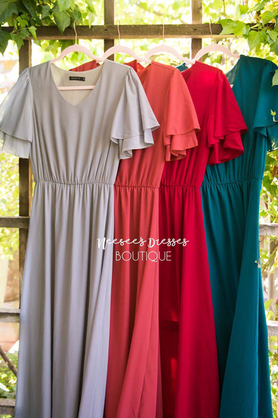 The Chloe Chiffon Maxi Dress Modest Dresses vendor-unknown