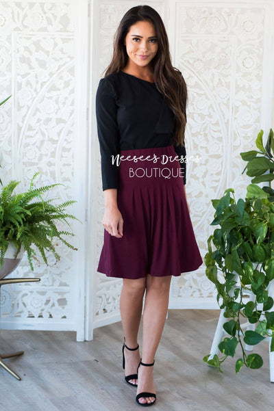 Conquer the Day pleated Skirt Skirts vendor-unknown