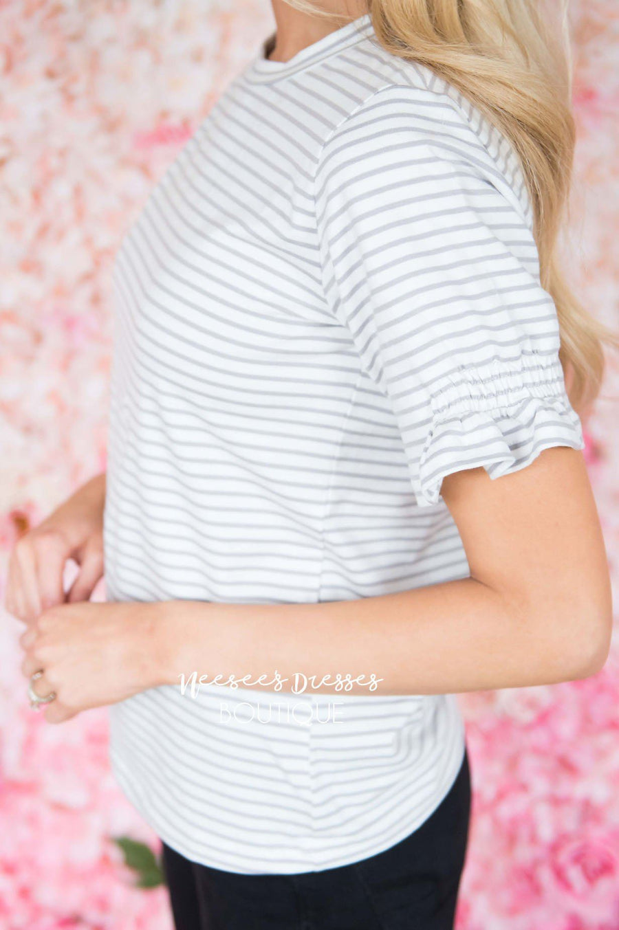 Life Of The Party Striped Top