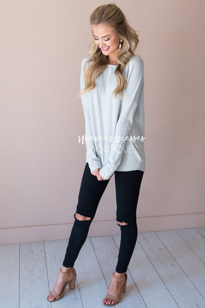 I've Fallen For You Sweater Modest Dresses vendor-unknown