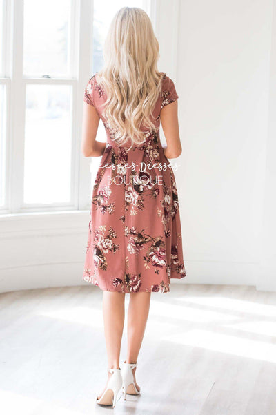 The Ivy Pleats Dress Modest Dresses Mikarose