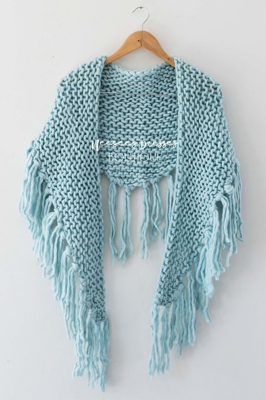 Had Me Smitten Oversized Knit Scarf Accessories & Shoes Leto Accessories