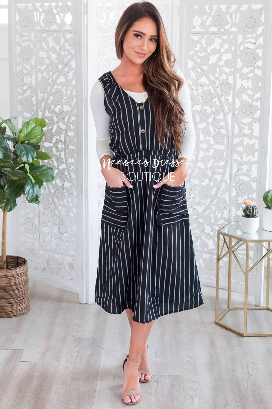 The Sadie Overall Dress