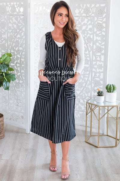 The Sadie Overall Dress Modest Dresses vendor-unknown