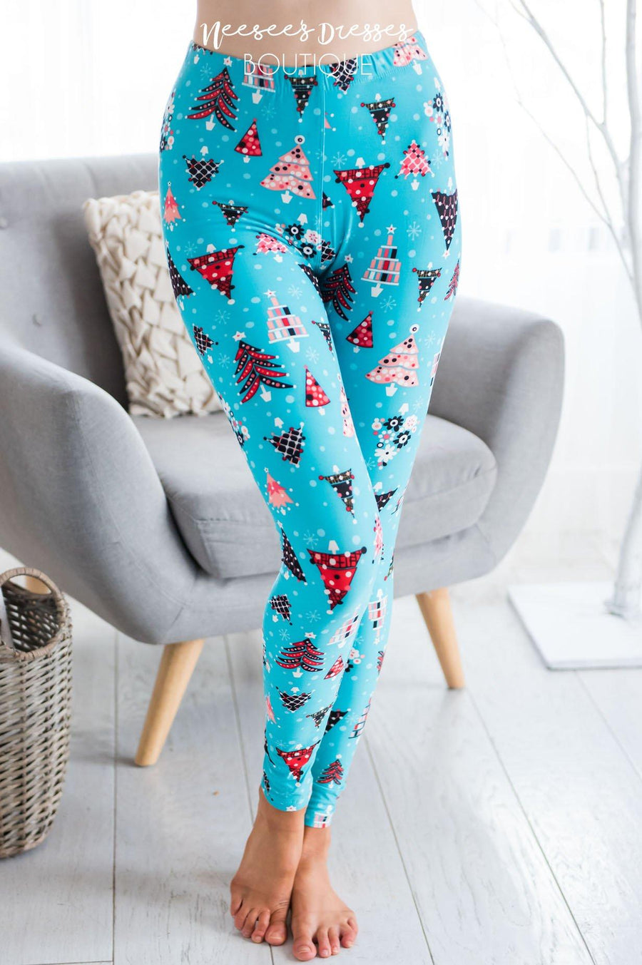 O Christmas Tree Christmas Leggings Accessories & Shoes vendor-unknown