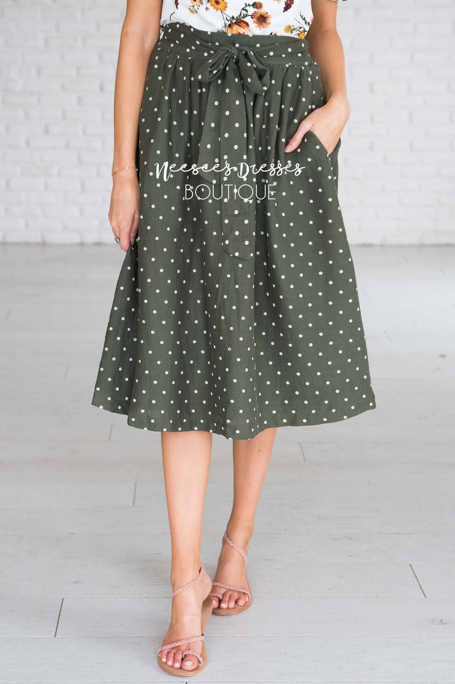 Wildest Dreams Polka Dot Skirt
