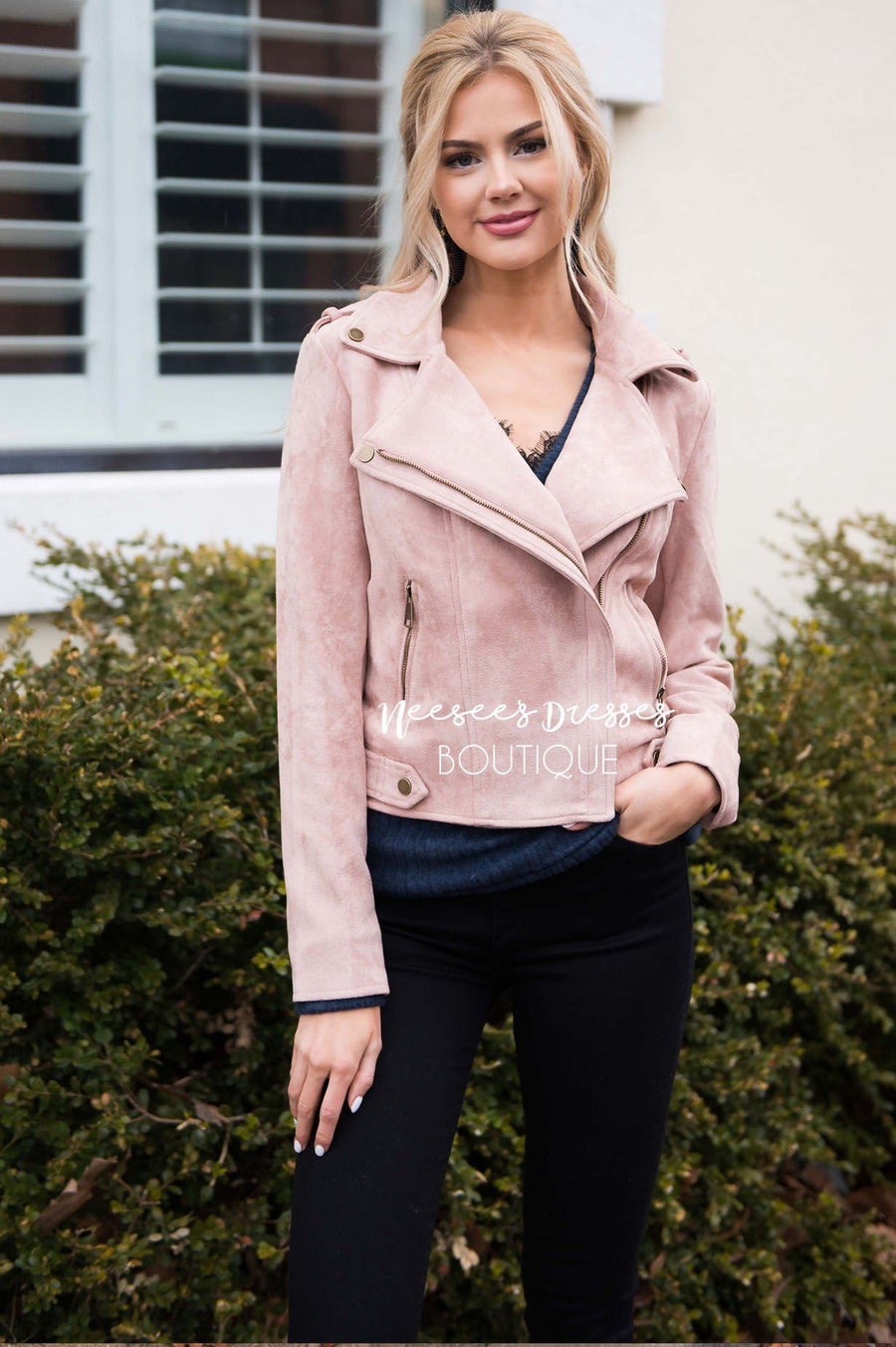 Pretty in Pink Moto Jacket