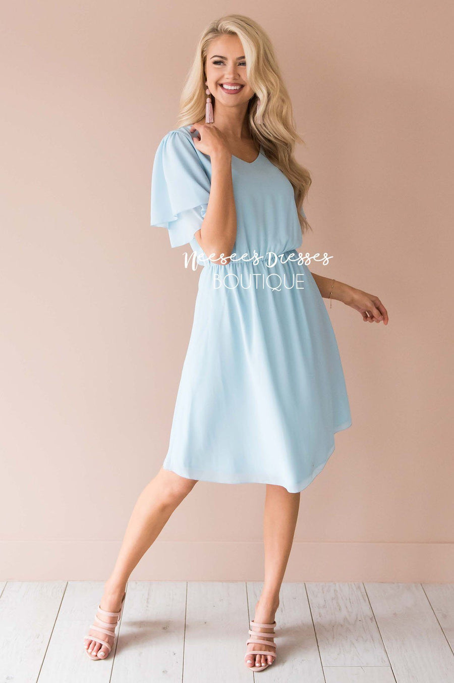 The Claire Chiffon Dress