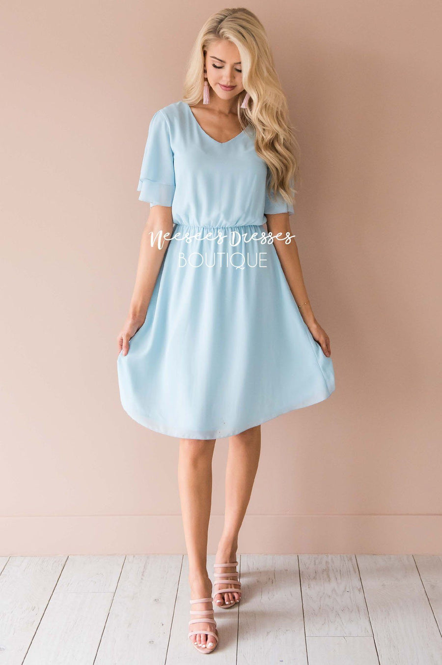 Church Dresses with Belts
