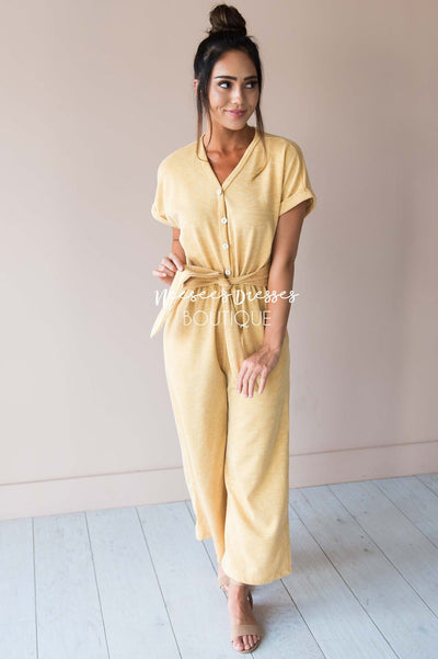 The Sahalie Jumpsuit Modest Dresses vendor-unknown