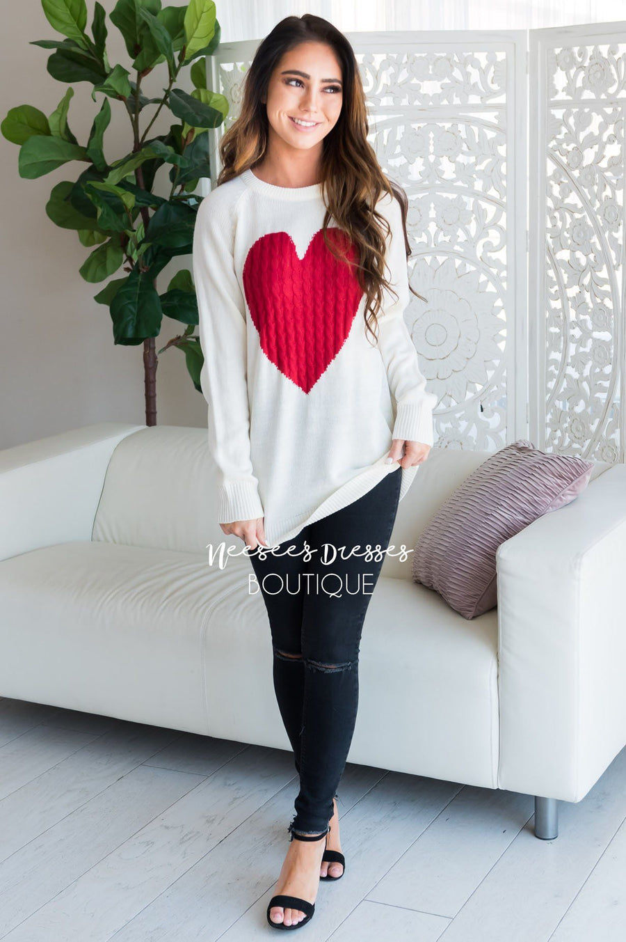 Heart Strings Sweater