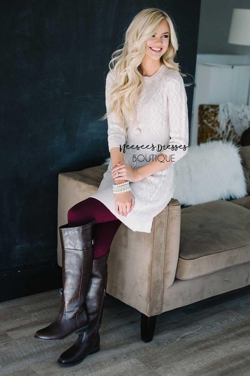 Say it Simply Burgundy Fleece Leggings