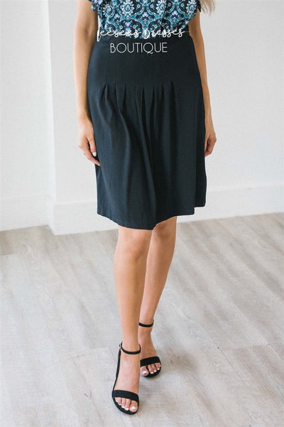 Pleat Front Skirt Skirts vendor-unknown